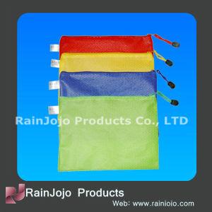 PVC Net Document Bag, PVC Net Bag pictures & photos