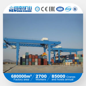 China Top Manufacturer Kuangyuan Brand Rail Mounted Container Rmg Gantry Crane pictures & photos