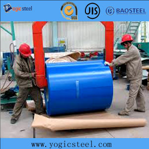 Blue Paited PPGI Steel pictures & photos