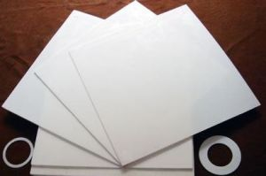 White, Black Color PTFE Sheet, Teflon Sheet for Industrial Seal pictures & photos