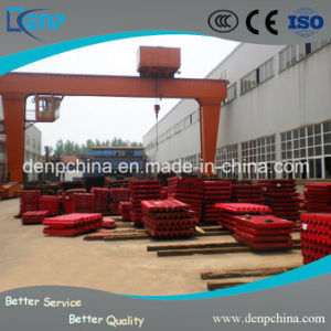 Hot Sale Jaw Crusher Parts High Manganese Jaw Plate for Metso pictures & photos