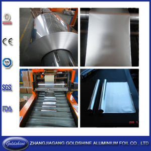 Kitchen Aluminum Foil Rewinding and Cutting Machine pictures & photos