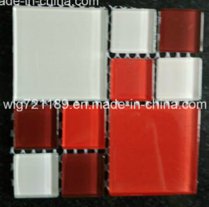 Red Crystal Glass Mosaic for Steam Bath Room pictures & photos