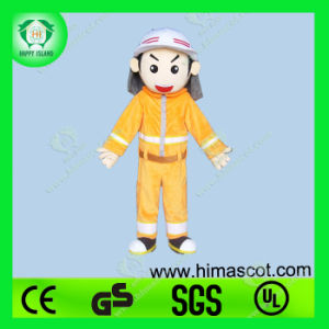 Hi En71 Fire Manmascot Costume