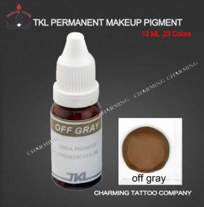 Tattoo Ink-off Gray Tattoo Pigment for Eyebrow (TKL -Q03502)
