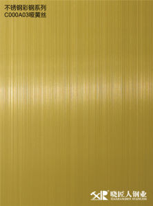 Prime Standard Titanium Coated Color Stainless Steel Sheet for Best Selling pictures & photos