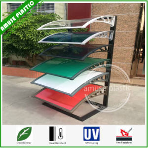 Colored Outdoor Canopy DIY Light Weight Plastic PC Awnings Sunshades pictures & photos