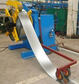 5 Ton Hydraulic De-Coiler with Sensor pictures & photos
