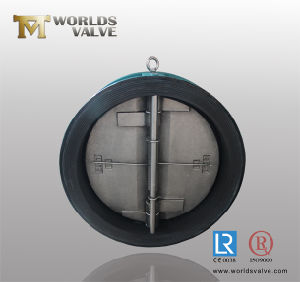 Rubber Coated Wafer Type Check Valve (H77X-10/16) pictures & photos