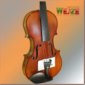 Middle Grade Antique Color Flamed  Violin  pictures & photos