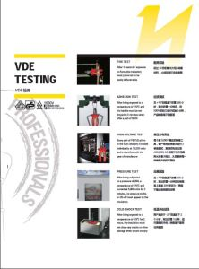 VDE Insulated Open-End Wrench pictures & photos
