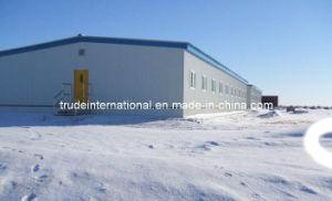 Steel Framed Prefab/Modular/Prefabricated Steel Warehouse pictures & photos