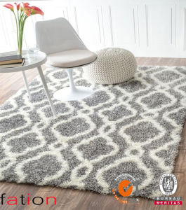 Indoor Anti-Slip Shaggy Carpet Living Room/Bedroom Area Rugs pictures & photos