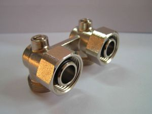 Brass Forge Elbow Dual valve