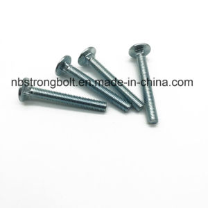 DIN603 Round Head Square Neck Bolts Carriage Bolts with Nuts pictures & photos