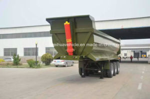 40t Rear Dump Truck Trailer, Tipper Semi Trailer From Manufacture pictures & photos
