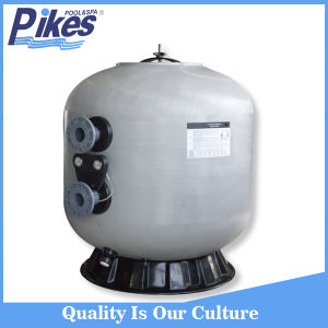 Industrial Circulating Water Manual Control Bypass Sand Filter pictures & photos