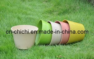 Flower/Plant Pot/Bamboo Fiber/Plant Fiber/Vase/Garden/Promotional Gifts/Home Decoration/Garden Decorations/Natural Bamboo Fiber Biodegradable Pots (ZC-F20236)