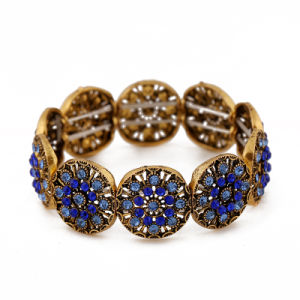 Fashion Wholesale Bule Crystal Jewelry Bracelet