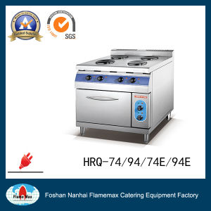 4 Burner Electric Hot Plate with Cabinet (round) (HRQ-94) pictures & photos