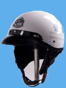 Police Motorcycle Helmet for Summer