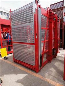 2000kg Double Cage Construction Hoist pictures & photos