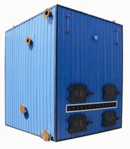 Coal Fired Hot Blast Stove Heating System for Cow House