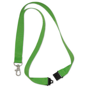 Custom Color Polyester Value Lanyards with Metal Lobster