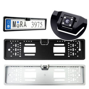 New Arrival High Quality 170 European Russian Car License Plate Frame Auto Reverse Rear View Backup Camera pictures & photos