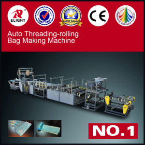 Recycle Material Trash Bag with Rope Making Machine pictures & photos