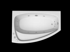 Pure Acrylic Corner Massage Bathtub Mt-IR1402