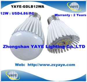 Yaye 2013/2014 Top Sell Low Price High Quality 12W E27 LED Bulbs with USD4.86/PC pictures & photos