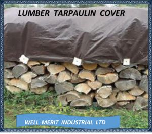 Outdoor Lumber Plastic Polyethylenen Tarpaulin pictures & photos