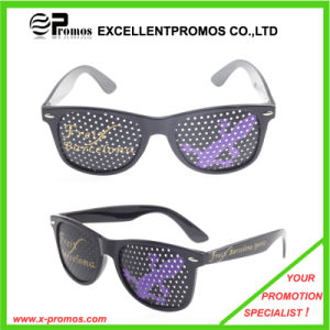 2014 Most Fashion Promotional Sticker Logo Printed Plastic Sunglass (EP-G9191) pictures & photos