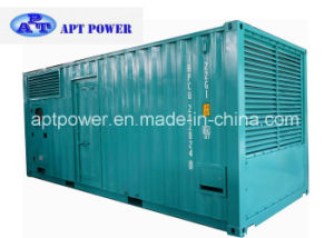 1000kVA Diesel Engine 4008tag2a Generator Installed Inside Container Canopy pictures & photos