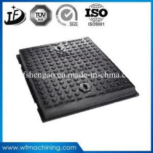 Road Sanitary Sand Casting Double Sealed Round Opening 600mm Sewer Manhole Cover pictures & photos