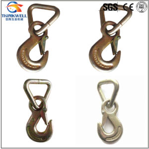 Forged Alloy Steel Safety Hook with Triangle Ring pictures & photos