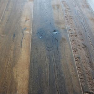 Rustic Style Oak Hardwood Parquet / Wood Flooring pictures & photos