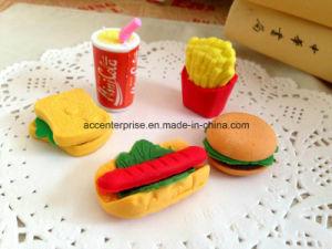 Hamburg, Cola, Hotdog, Sandwich Erasers pictures & photos