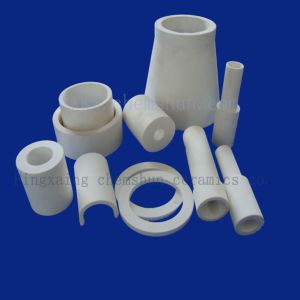 Manufacturer Engineering Alumina Ceramic Lining Pipe for Abrasion Maintanance pictures & photos