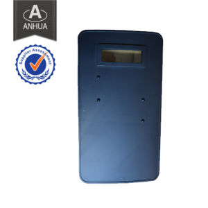 Police Light Weight Handhold Bulletproof Shield pictures & photos