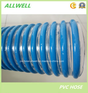 PVC Agricultural Suction Spiral Water Irrigation Pipe Discharge Hose pictures & photos