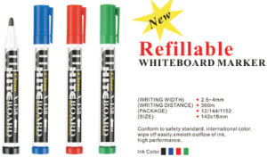 Refillable Ink Whiteboard Marker Pen pictures & photos