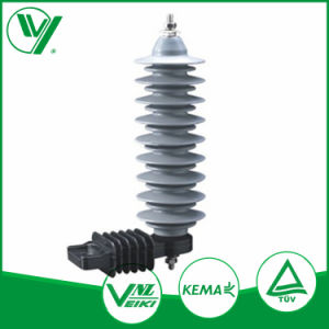 OEM Polymer Silicone Material 30kv 10ka Class 2 Type High Voltage Arrester pictures & photos
