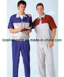 Custom Work Uniforms, Cotton Coveralls (LA-A022) pictures & photos