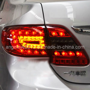 Altis Corolla LED Tail Lights for Toyota Red Black