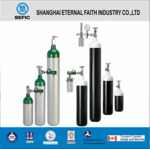 Portable Medical Oxygen Aluminum Cylinder (MT-6-6.3) pictures & photos