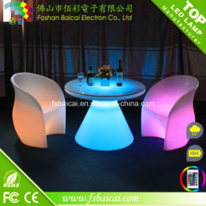 LED Illuminated Bar Table /Chair pictures & photos