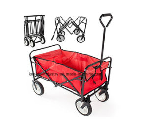 High Quality Outdoor Foldable Utility Beach/Kid/Baby Wagon Cart pictures & photos