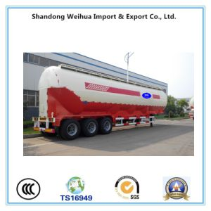 Easy Operation 42cbm Bulk Cement Tanker Trailer with Good Price pictures & photos